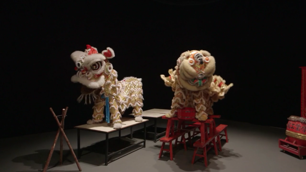 Samson YOUNG: Muted Lion Dance